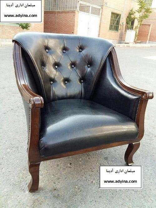 صندلی مدیریت کلاسیک مدل 10