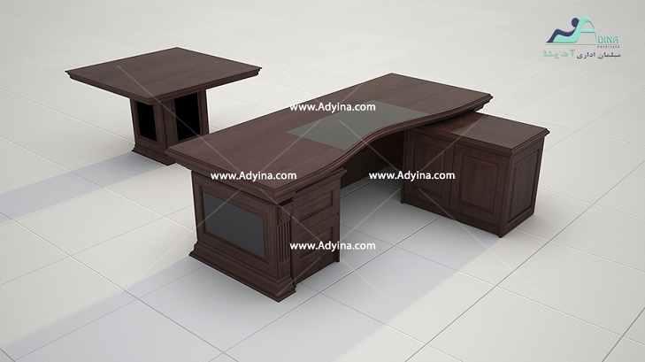 میز مدیریت چرمی