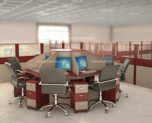 میز کارگروهی -میز تیمی -مدل شماره (1)