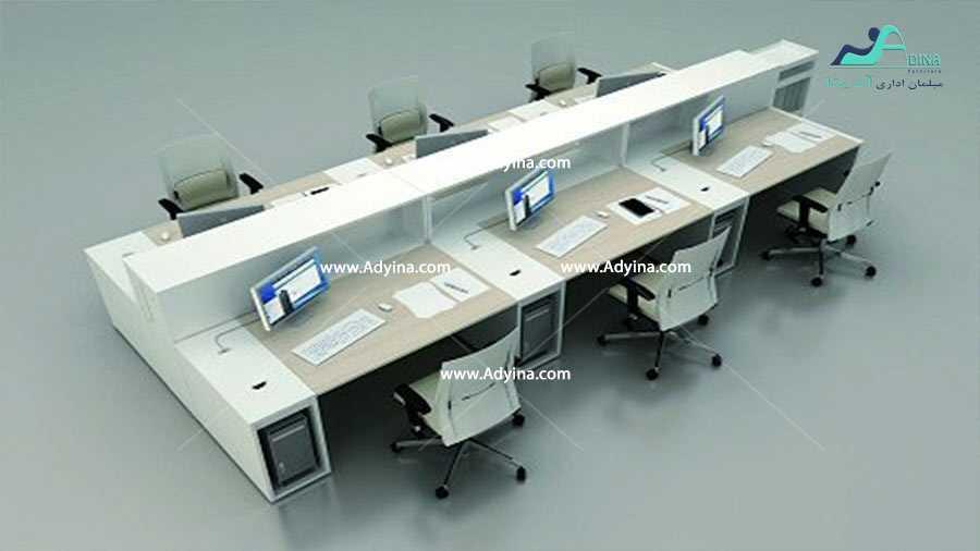 میز کارگروهی -میز تیمی -مدل شماره (17)
