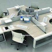 میز کارگروهی -میز تیمی -مدل شماره (18)