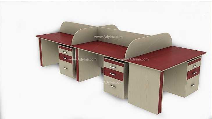 میز کارگروهی -میز تیمی -مدل شماره (4)