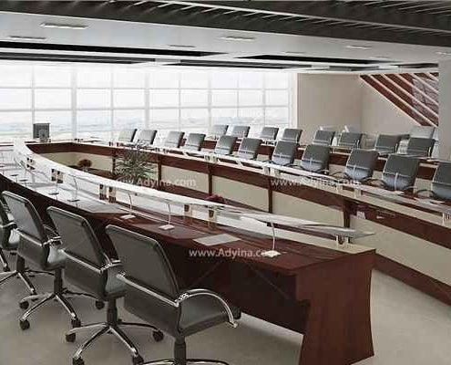 میز کنفرانس یو شکل