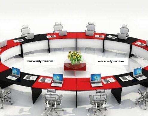 میز کنفرانس یکتا مدرن
