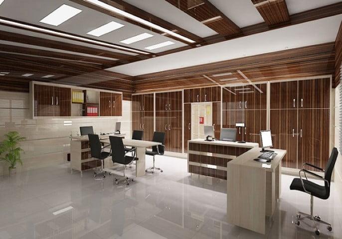 دکوراسیون اداری اتاق مدیریت