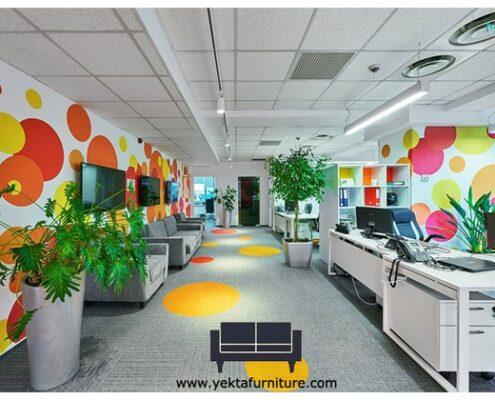 طراحی دکوراسیون اداری و تاثیر آن بر خلاقیت پرسنل