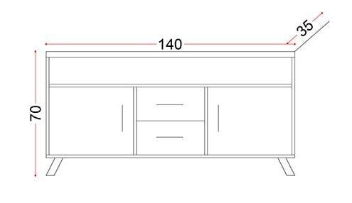 میز کردنزا مدل شماره پنج