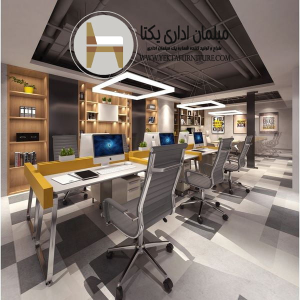 طراحی فضای اداری با بودجه محدود