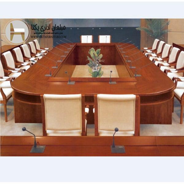 میز کنفرانس کلاسیک مدل W03