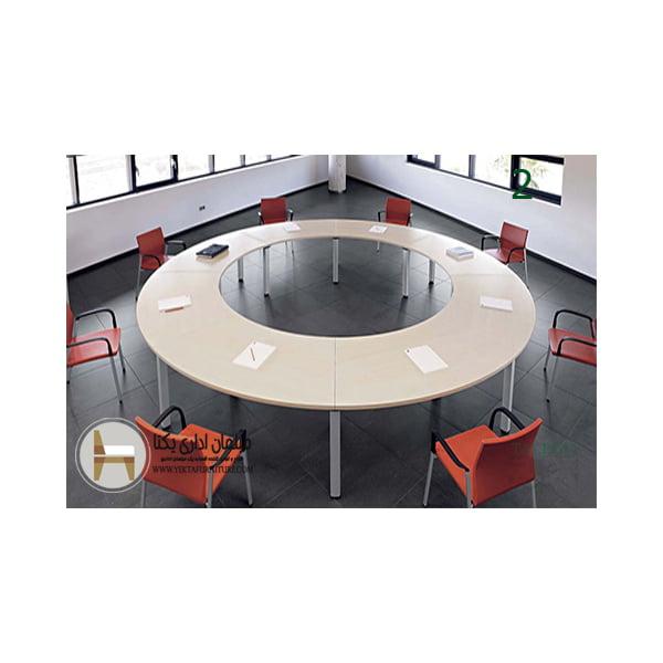 میز کنفرانس گرد یا دایره ای
